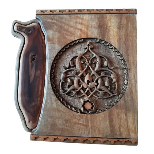 Monabat Kari key holder - purchase Iranian wood carving key holder from handicrafts365 online shop