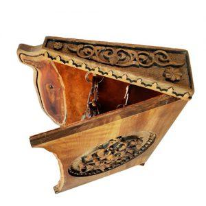 Iranian wooden key holder