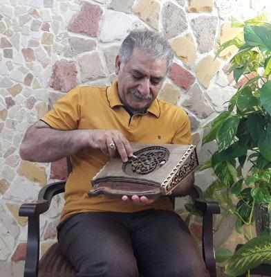 Mohammad Mehdi Tavakol - Iranian wood carving