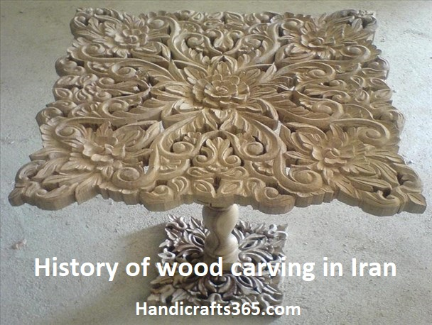 History of wood carving in Iran