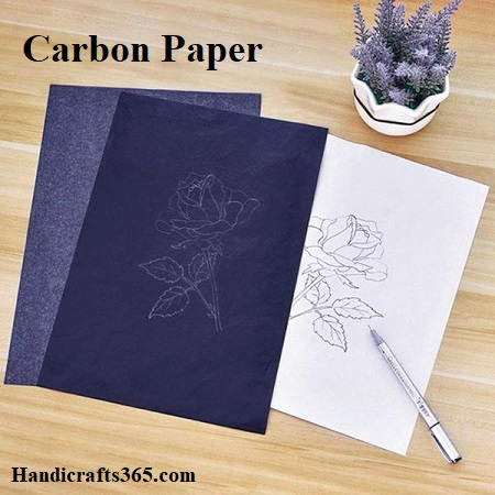 Carbon Paper for transferring the design on wood