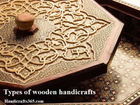Types of wooden handicrafts in Iran and world