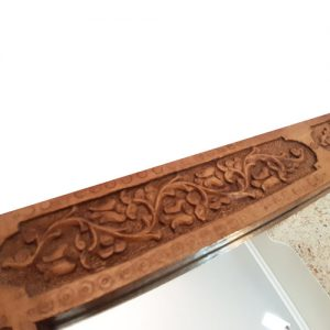 Wooden Rectangular Mirror made by Mohammad Mehdi Tavakol