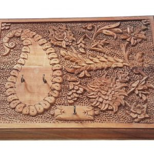 Rectangular Wood Carving Key Holder made by mohammad mehdi tavakol