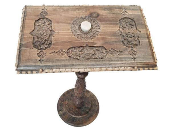 Wood Carving Prayer Table made by mohammad mehdi tavakol at handicrafts365.com