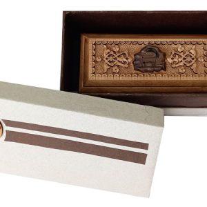 Iranian wood carving box (petroglyph made by mohammad mehdi tavakkol