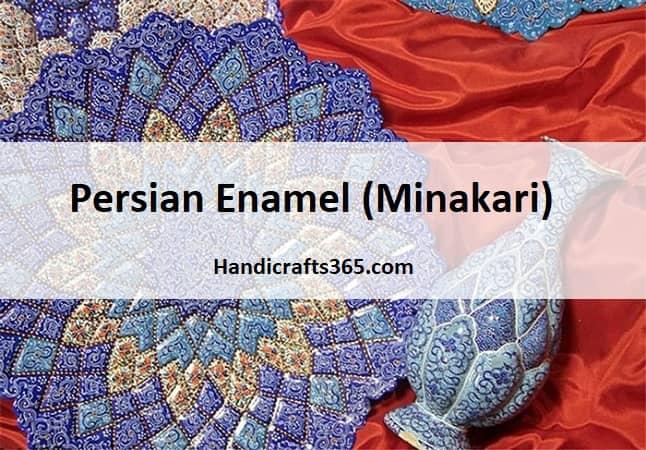 Persian enamel ( Minakari) - handicrafts365.com