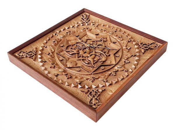 Wooden Clock (Heaven)