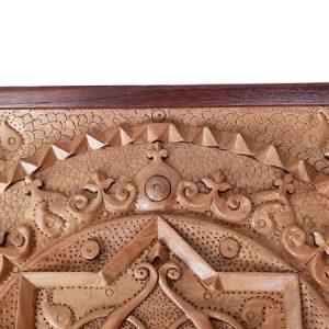 Carving clock (heaven)