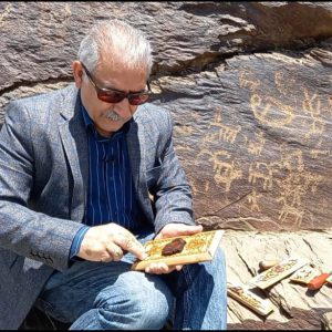 Mohammad Mehdi Tavakol - Iranian wood carver - wooden box