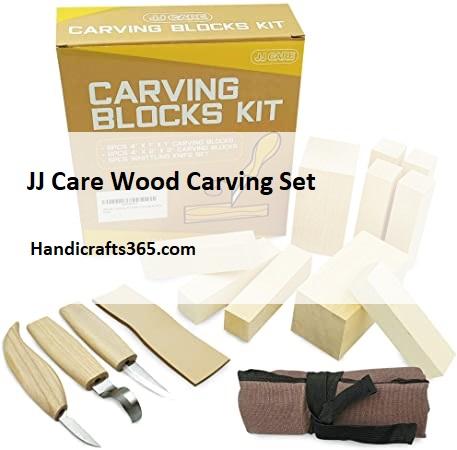 JJ Care Wood Carving Set i