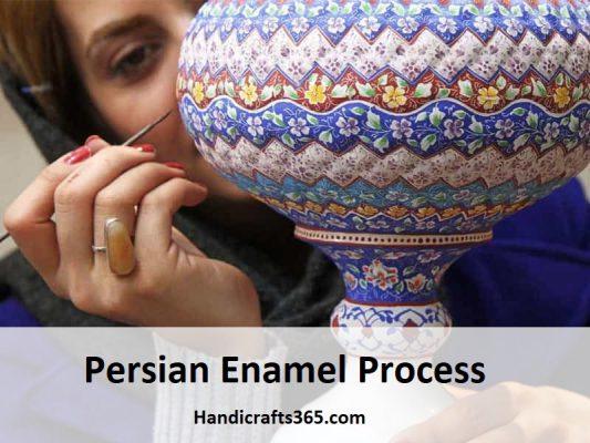 Persian Enamel Process