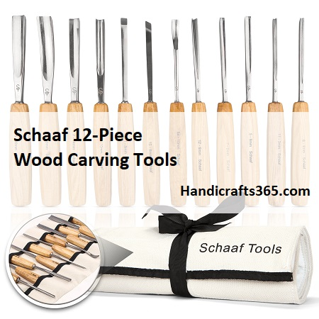 Schaaf 12-Piece Wood Carving Tools