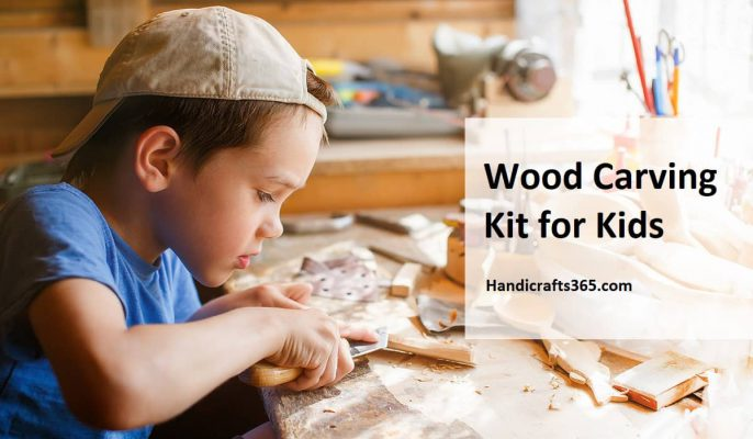 Wood Carving Kit for Kids